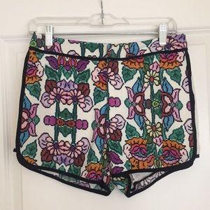 MINKPINK floral shorts